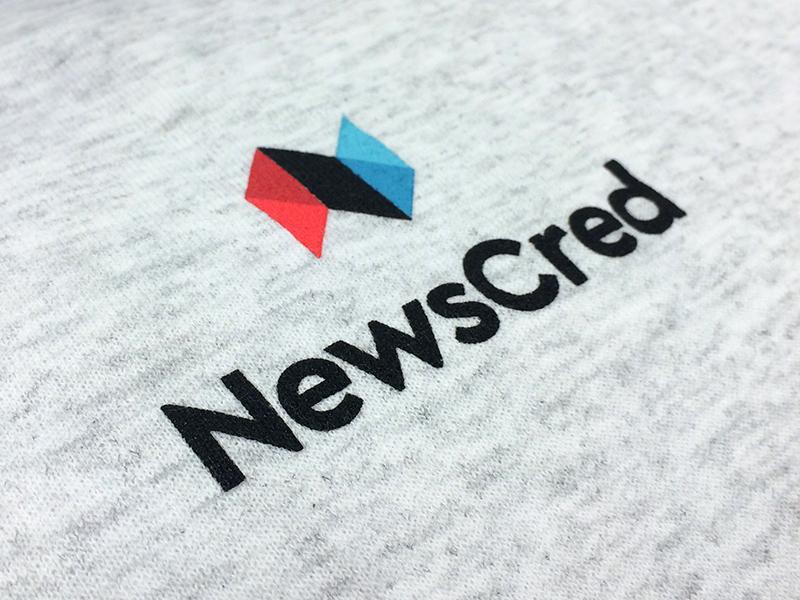 New logo gray sweatshirt shirt identity logo swag hoody brand red blue