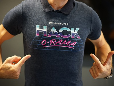 Hack-O-Rama tees hackathon hack clothing vintage retro 80s shirt t-shirt tee swag