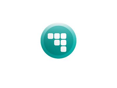 Modular Transportation modular modules future transportation button logo icon
