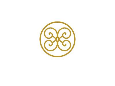 Helios greek helios spiral logo icon