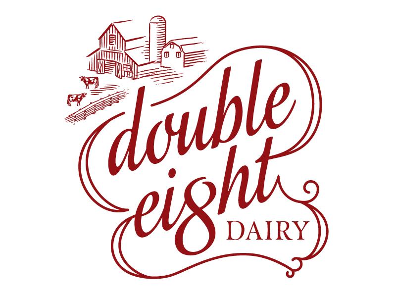 Dairy Logo logo packaging identity food dairy gelato