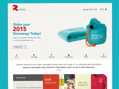 Ramco Printing Website