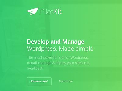 Pilotkit site manager site install site migration wordpress development localhost mamp