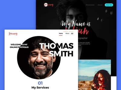 Preview - Journey  PSD Multipurpose Template wordpress start-up company site redesign simple page full screen flat ui flat colors dashboard application app