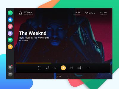 WIP: MyLink Car UI music music app car ui car dashboard car app application dashboard app