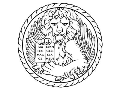 St. Mark's Lion for Sosta Cucina Venetian Cuisine