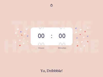 Debut + Timer Exploration picker timer time