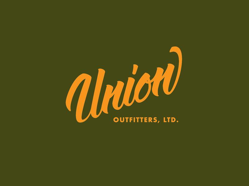 Union Outfitters brush lettering brushpen jamie stark typography art director orange county handlettering