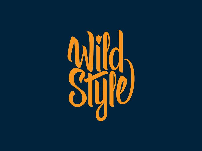 Wild Style hand lettering handlettering jamie stark art director orange county