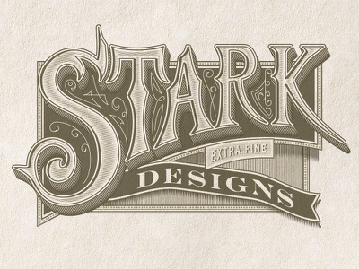 Stark Handletter self promotion stark designs typography packaging design jamie stark