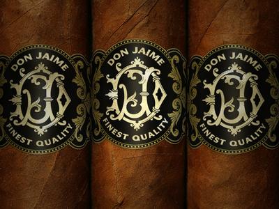 Cigars Bands typography jamie stark stark designs llc package design cigars bands cigars
