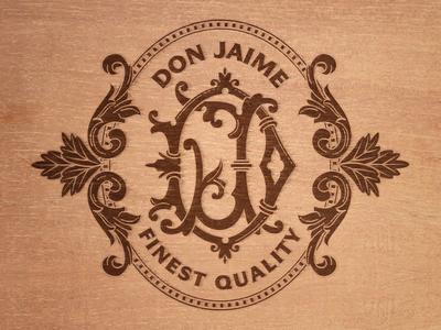 Box Lid cigars cigars bands package design stark designs llc jamie stark typography