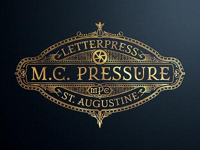 MC Pressure art director typography engraving laser engraving graphic designer orange county artist art jamie stark letterpress mc pressure