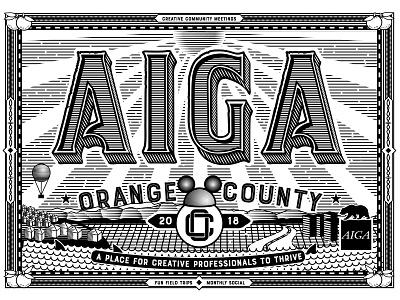 AIGA Postcard package and brand design art director typography engraving laser engraving orange county graphic designer artist art jamie stark