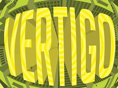 Vertigo illustrated type vertigo typography art director artist illustration art director orange county graphic designer jamie stark