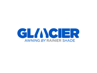 Glacier awning jamie stark logo orange county graphic designer art director orange county graphic designer typography