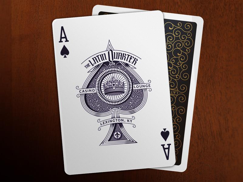 Ace Of Spades typography ace playingcards artist illustration orange county graphic designer art director orange county jamie stark