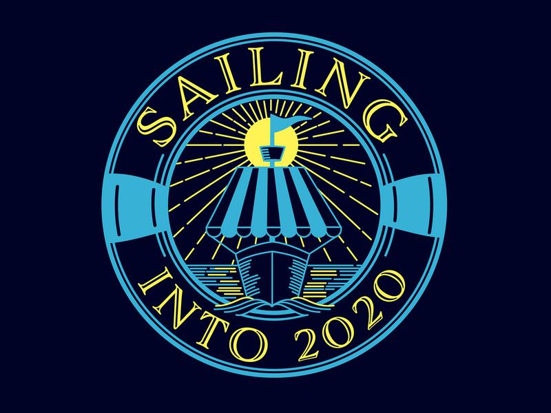 Sailing Into 2020 art director orange county orange county graphic designer branding design branding logo jamie stark