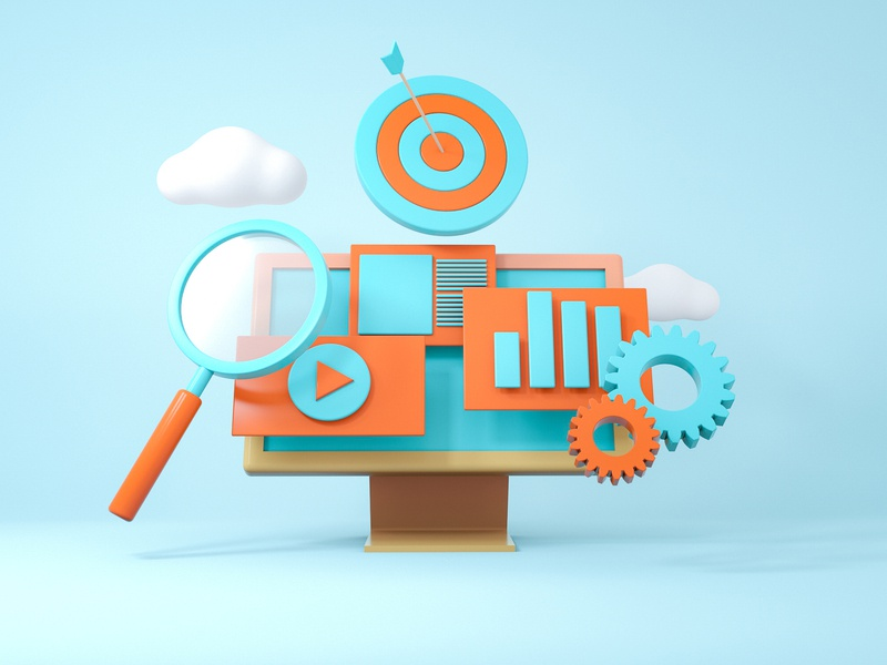 Analytics and reporting by Daniel Dominguez on Dribbble