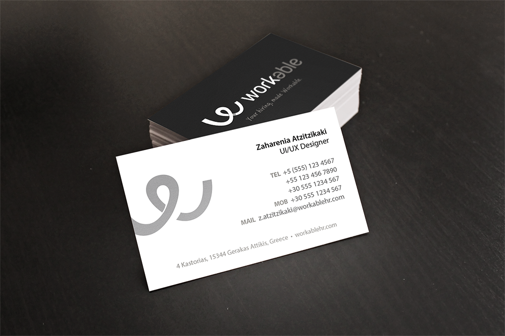 Dribbble business cards previewg by zaharenia atzitzikaki business cards preview colourmoves
