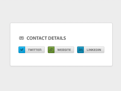Contact Pills contact buttons pills social