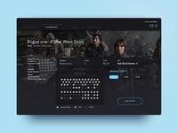 UI Challenge 10 — Cinema Tickets Booking