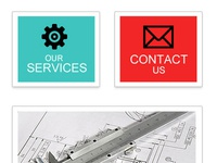 Web design for an engineering company
