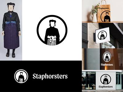 Staphorsters - Heritage Identity icon lettering identity minimal typography branding logo design