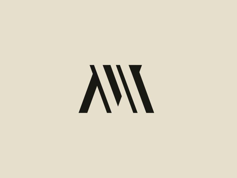 #dailychallenge day 4 - Single Letter Logo - M m letter single letter