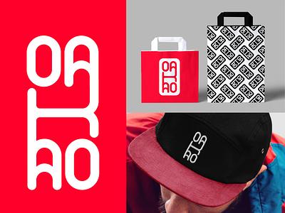 #dailychallenge day 7 - Oakao daily challenge icon type lettering flat minimal vector illustration identity typography logo illustrator branding design oakao
