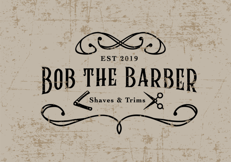 #dailychallenge day 12 - Bob The Barber lettering vector illustration identity typography logo illustrator branding design
