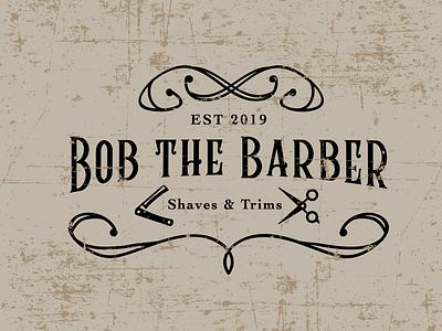 #dailychallenge day 12 - Bob The Barber lettering vector illustration identity typography logo illustrator branding design