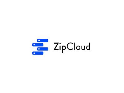 #dailychallenge day 14 - Zipcloud Storage daily challenge type flat lettering minimal vector illustration identity typography logo illustrator branding design