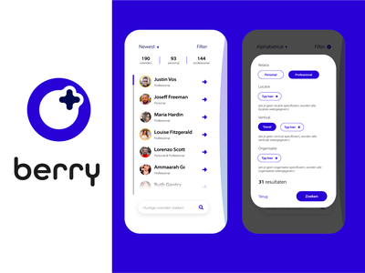 Here is your first taste of 'berry' app ui icon flat lettering illustration vector identity typography logo illustrator branding design