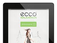 Ecco Walkathon Photo App