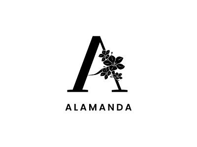Alamanda Logo Design graphic design branding logo