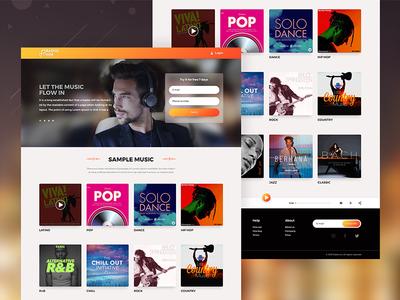 Radio Inn - Responsive Website Design