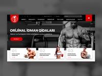 Atlet.az - Website Design