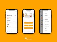 Express bank app - UI Design