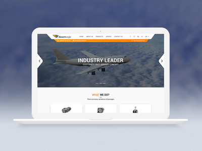 Deserteagle - Website design