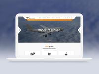 Deserteagle - Website design