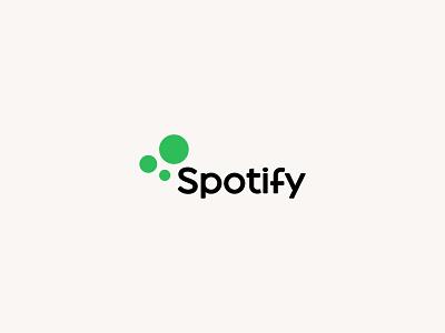 Spotify 2.0 vector clean design graphic illustration illustrator logo branding spotify rebranding logo design