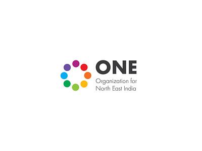 One India branding identity designer identity design logodesign college student organization stationery brochure design type typography minimal logo illustrator identity design branding