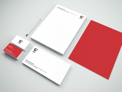Smarth Corporate Services stationary vector minimal logo illustrator identity design branding