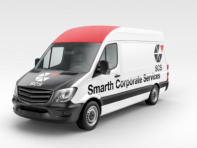 Smarth Corporate Services branding typography illustrator illustration minimal logo identity design branding