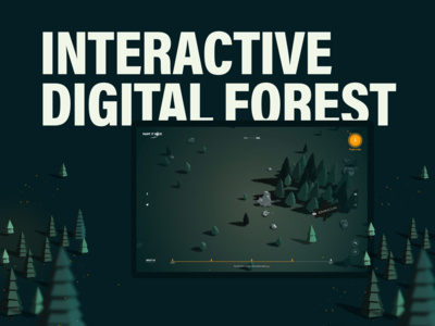Paint It Back - Interactive Digital Forest