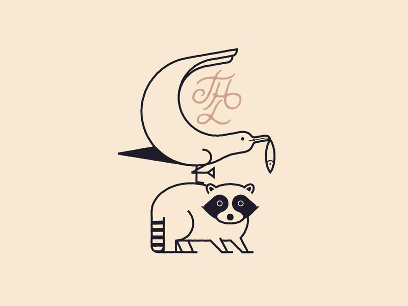 THL Logo proposal animals animals logo logo symbol geometry