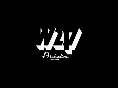 W2p Logo blackandwhite geometric logo