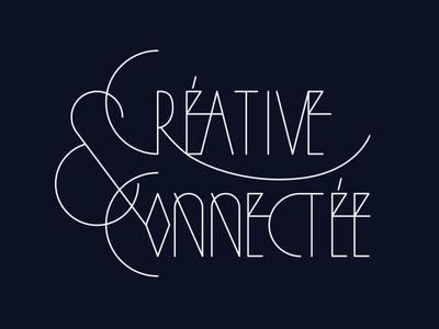 Creativeconnect geometry typography