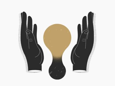 Transmutation hands gold